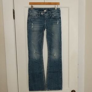 Silver Jeans Jeans - Silver Tuesday Bootcut jeans, sz W26/L33
